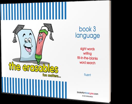 Erasables Language 3