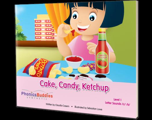 Cake, Candy, Ketchup