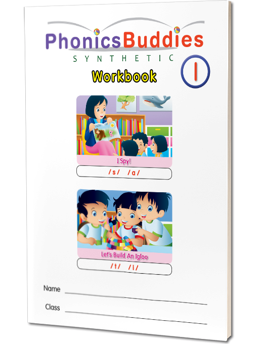 Set of 4 Workbooks - Level 1 (click to view books)