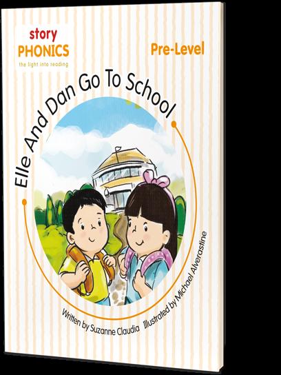 Elle And Dan Go To School